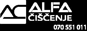 ALFA čiščenje