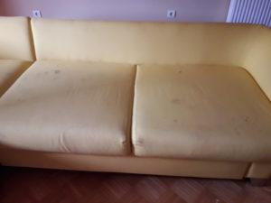 Globinsko čiščenje sedežne garniture Koper Izola Portotož
