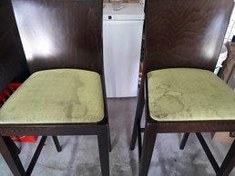 Globinsko čiščenje pisarniških stolov - barskih